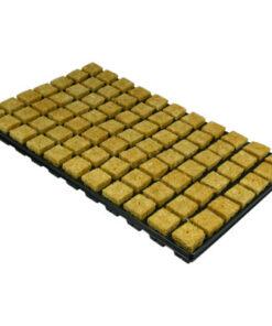 Tray of Rockwool