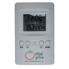 plug and grow hygrometer