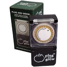 plug and grow heavy duty timer
