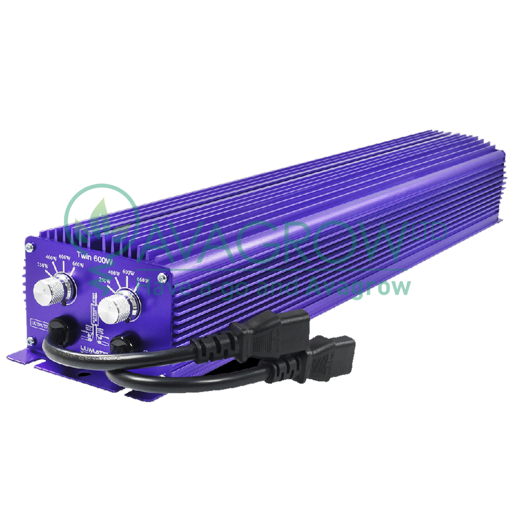 Lumatek Twin 600w 240v Digital Ballast