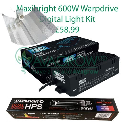 Maxibright 600W WarpDrive